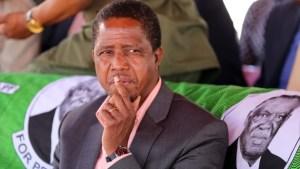 Zambian President, Edgar Lungu