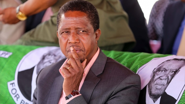 President Lungu In Solwezi 5275