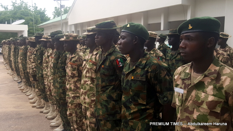 FLE PHOTO: Civilian JTF that became Nigerian Soldiers