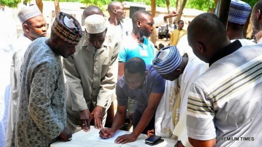 Boko Haram Detainees