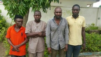 Suspected killers of Olalekan