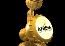 23.9 Carat Gold Plated AFRIMA Trophy