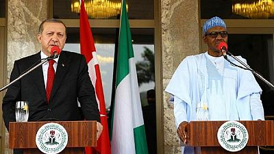 Erdogan and Buhari [Photo: Africanews.com]