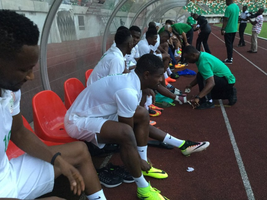 Image result for Mikel, Musa, 18 others participate in Eagles' first training session