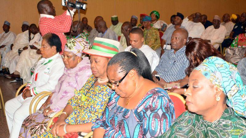 Cross section of leaders of PDP leaders