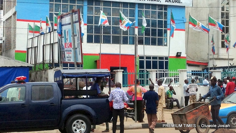 Image result for Angry youth break into APC headquarters