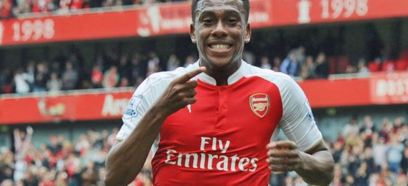 Alex Iwobi [Photo credit: www.express.co.uk]