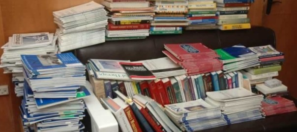 Books [Photo credit: www.nigeriaphysio.net]