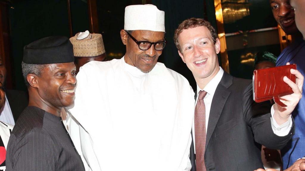 Facebook owner and buhari