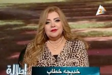 Khadega Khatab, one of the women on Egyptian TV being told to lose weight or she'll be fired.