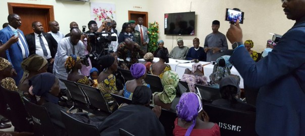 Image result for 21 Freed chibok girls