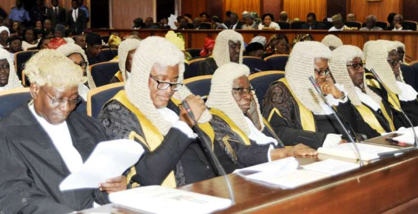 Nigerian Judges Photo credit: Pulse.ng