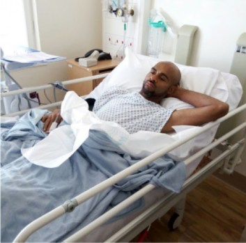 leo-mezie-on-his-hospital-bed-in-london