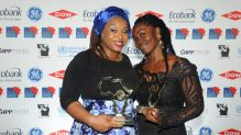 Ogechi Ekeanyanwu, until recently a Premium Times reporter and Yemisi Akinbobola of IQ4News