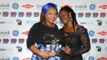 Ogechi Ekeanyanwu, until recently a Premium Times reporter and Yemisi Akinbobola of IQ4News