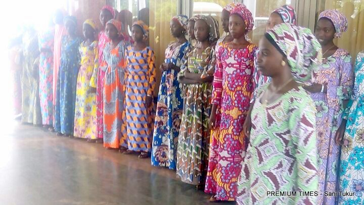 released-chibok-girls