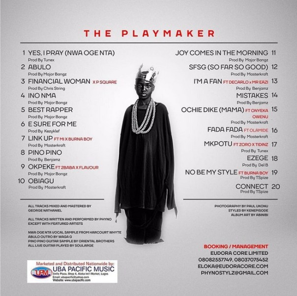 Image result for phyno The Play Maker