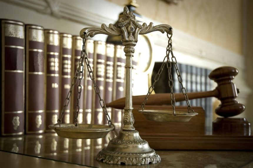 COURT: Symbol of law and justice