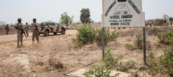 Government Girls' Secondary School, GGSS, Chibok [Photo credit: International Business Times]