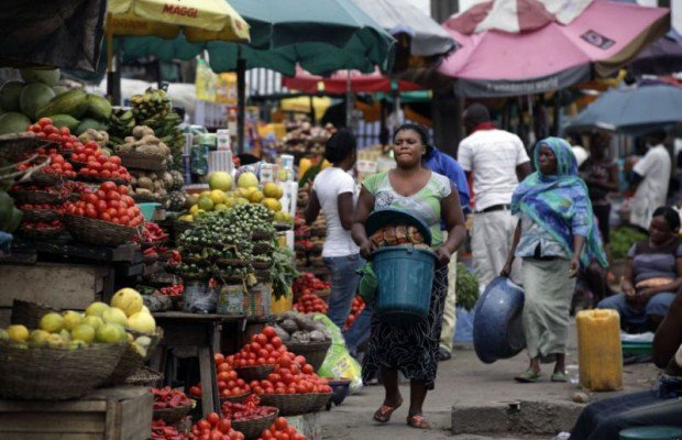 A market [Photo Credit: Daily Post]