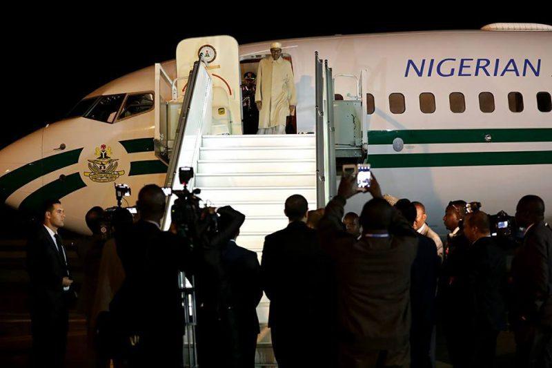 president-muhammadu-buhari-arrives-marrakech