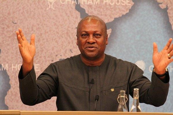 former Ghanaian President, John Mahama