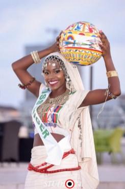 Miss Erica representing Niger