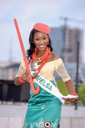 Miss Isaac representing Bayelsa