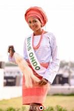 Miss Sandra representing Ondo