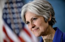 Green Party presidential nominee Jill Stein announces the formation of an exploratory committee to seek the Green Party's presidential nomination again in 2016. during an event at the National Press Club February 6, 2015 in Washington, DC. Photo by Olivier Douliery/Sipa USA