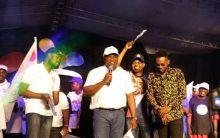 Ambode with Adekunle Gold