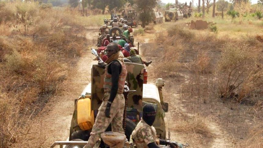 File photo of Nigerian Army in Sambisa Forest