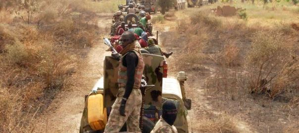 Nigerian Army in Sambisa Forest
