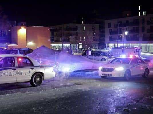 Witnesses said at least two gunmen wearing black shot at worshippers in the mosque. [ Photo credit: usatoday.com]