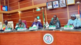ECOWAS service chiefs