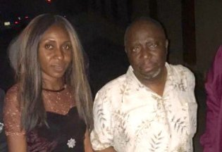 Dapo Olorunyomi and Evelyn Okakwu after being released by the Nigerian Police