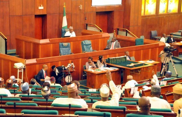 The House of Representative in Chamber ... members are notorious for budget mutilation