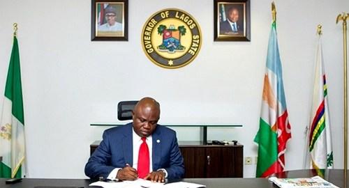 Former Lagos State governor, Akinwumi Ambode