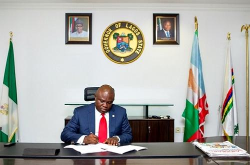 Lagos State governor, Akinwumi Ambode