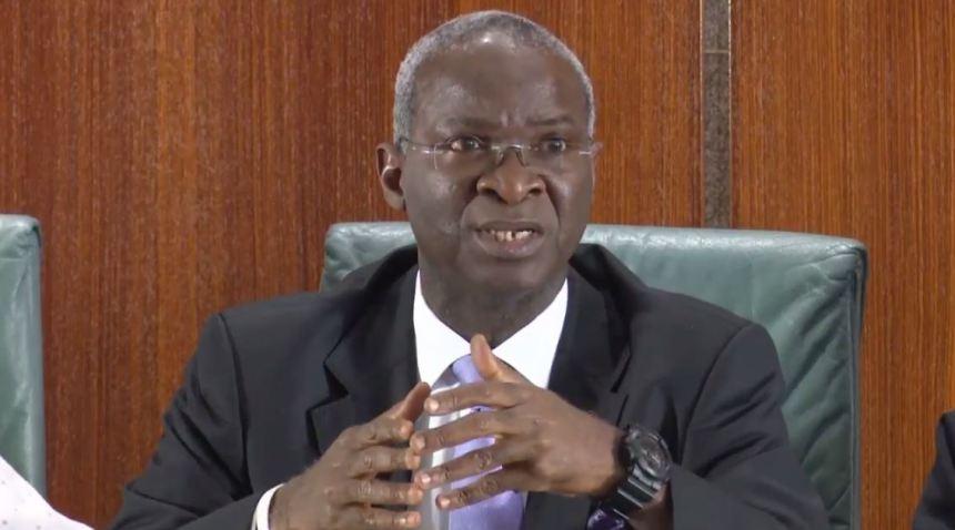 Minister of Works, Power and Housing, Babatunde Raji Fashola