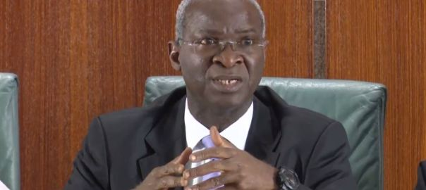 Minister of Works, Power and Housing, Babatunde Raji Fashola