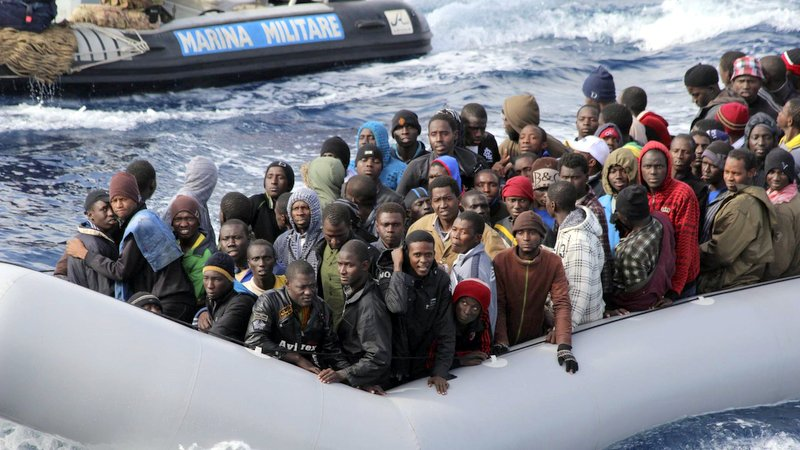 Black migrants in Libya Photo: Business Insider