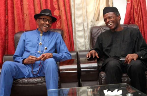 President Muhammadu Buhari and Vice President, Yemi Osinbajo