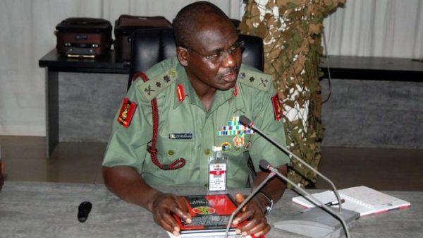 Chief of Army Staff, Lieutenant General Tukur Buratai [Photo credit: Naij.com]