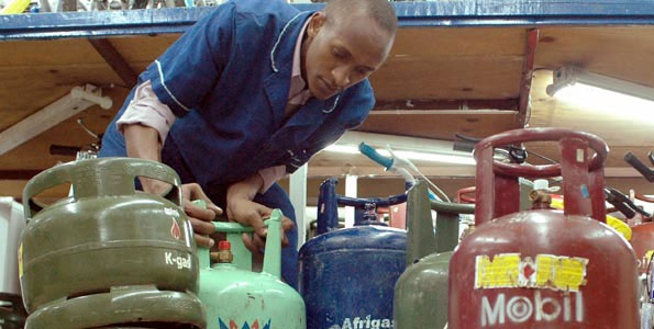 Cooking gas [Photo credit: Business Daily]