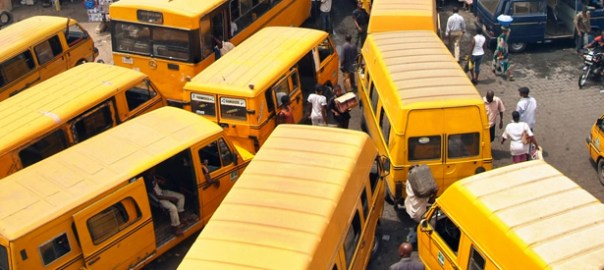 Danfo Buses, Lagos [Photo Credit:Bella Naija]