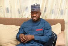 Kogi State Governor, Yahaya Bello [Photo Credit: The News Nigeria]