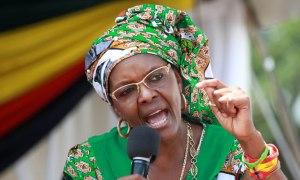 Zimbabwean President Robert Mugabe's wife, Grace Mugabe [Photo Credit: The Standard]