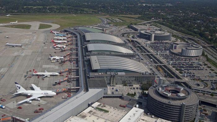 Hamburg airport [Photo credit: GMP Architekten]