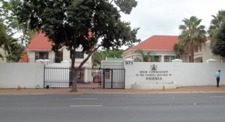 High Commission of Nigeria in Pretoria [Photo Credit: Wikipedia]